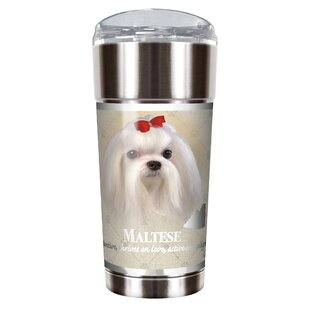 Howard Robinson's Maltese 24 oz. Stainless Steel Travel Tumbler