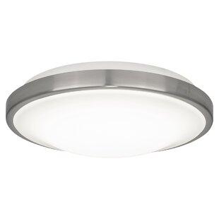 Affordable Peluso Ceiling LED Flush Mount By Ebern Designs