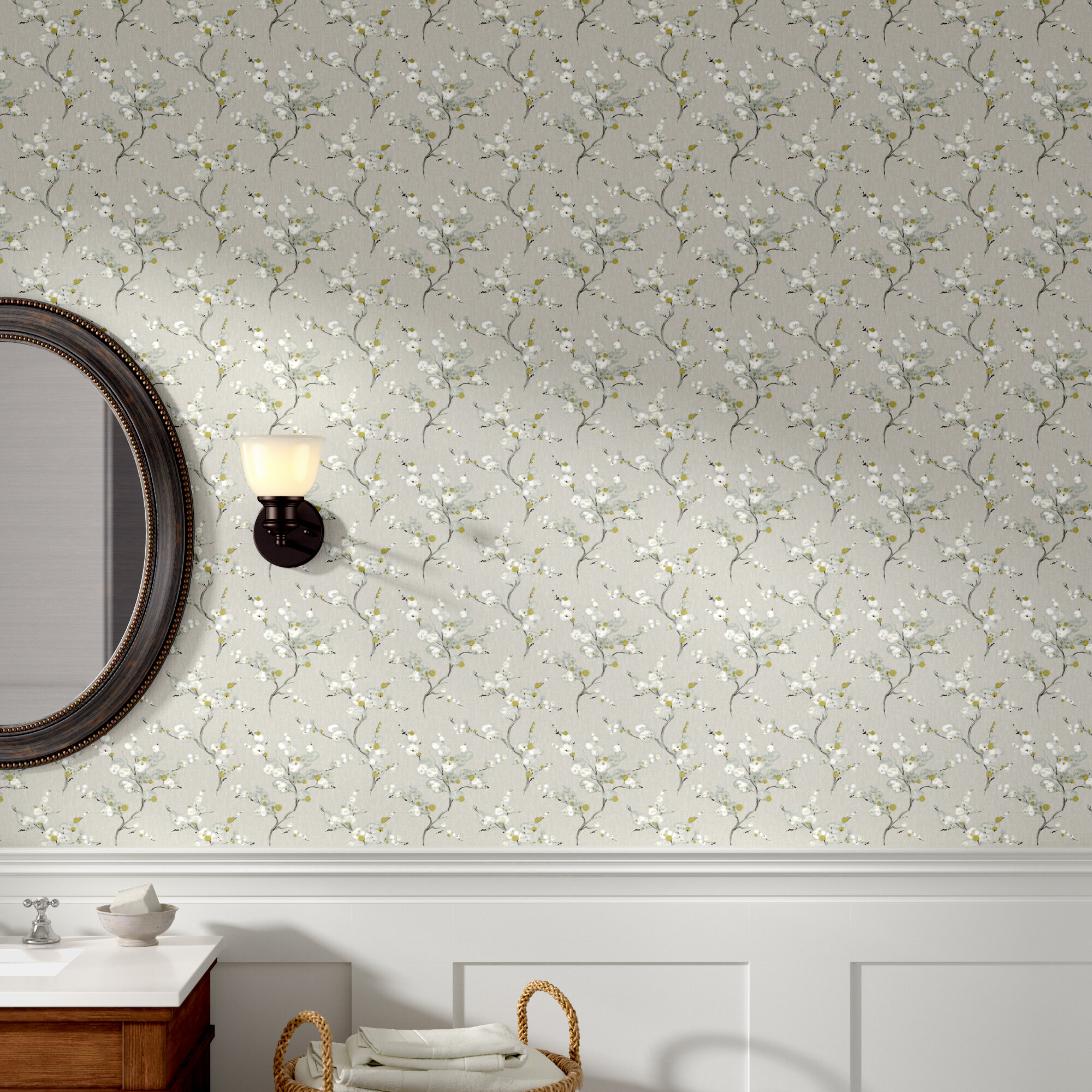 Charlton Home Crediton 18 L X 20 5 W Texture Peel And Stick Wallpaper Roll Reviews Wayfair