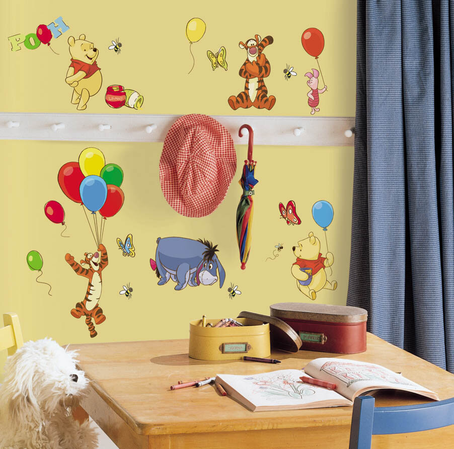 Wallhogs Disney Pooh and Friends Room Makeover Wall Decal | Wayfair
