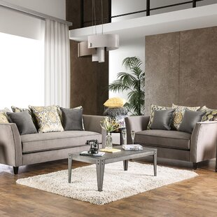 Budget Calanthe 2 Piece Living Room Set by House of Hampton Reviews (2019) & Buyer's Guide