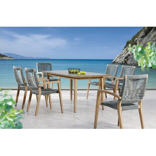 Berkeley 6 Seater Dining Set By Sol 72 Outdoor