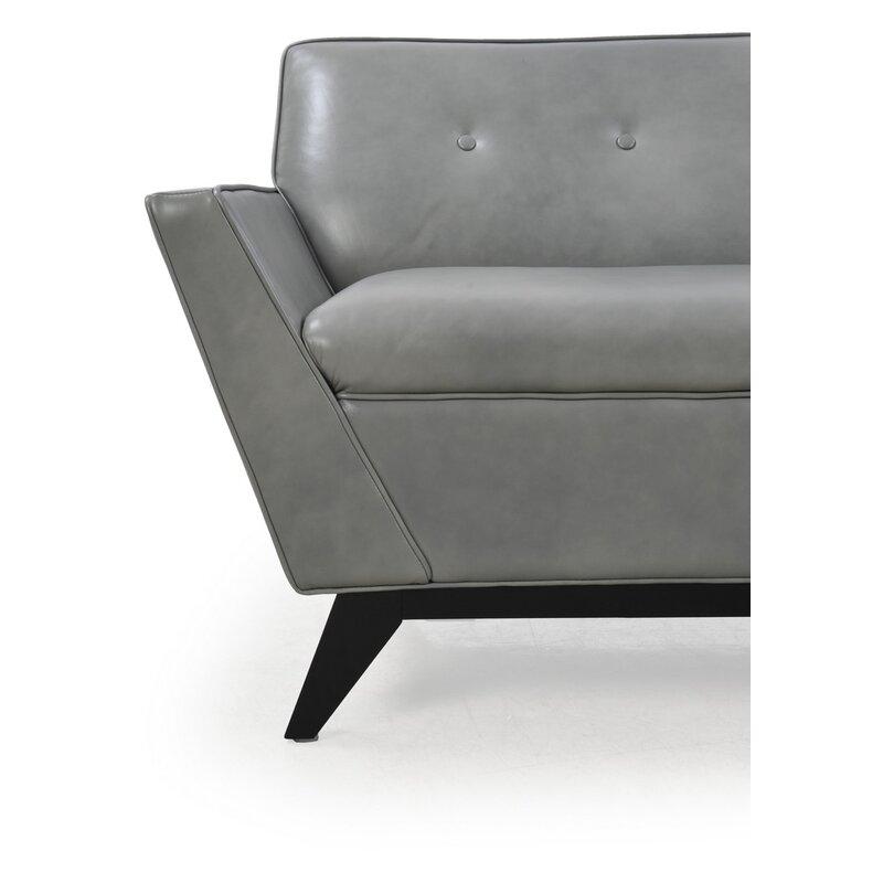 Brayden Studio Kallistrate Mid Century Sofa Wayfair