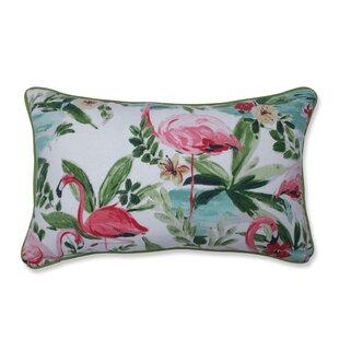 Pink Flamingo Lumbar Pillow Wayfair Ca