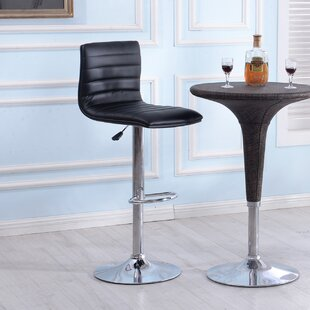 Morley Adjustable Height Swivel Bar Stool..