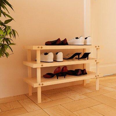 3tier 9 pair shoe rack