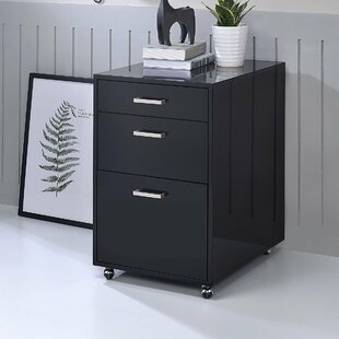 Rebrilliant Eichhorn 3-Drawer Mobile Vert..