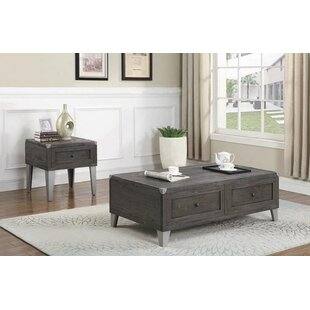 Kennedale 2 Piece Coffee Table Set by Brayden Studio