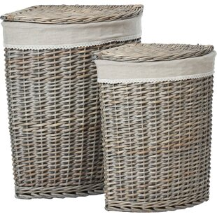 Mesa 2 Piece Laundry Set By Brambly Cottage