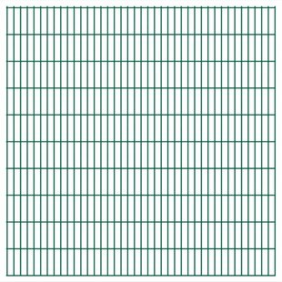 Elin 2D 39' X 7' (12m X 2.03m) Picket Fence Panel By Sol 72 Outdoor