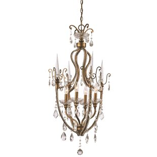 Buy clear Blandford 4-Light Candle Style Chandelier By Astoria Grand