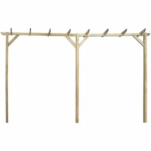 Arley 2.05m X 4m X 0.4m Wood Pergola By Sol 72 Outdoor
