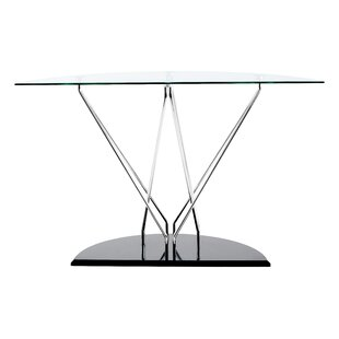 Anouk Cross Console Table By Metro Lane