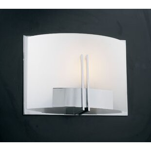 Price Check Michaud 1-Light Wall Sconce By Orren Ellis