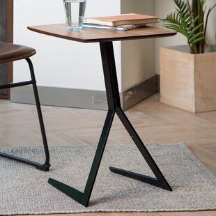 Natrona End Table by Ebern Designs