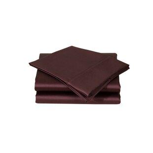 Affluence Home Fashions 600 Thread Count Premium Cotton Sateen Sheet Set