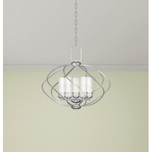 Iwamoto 5-Light Pendant by Latitude Run