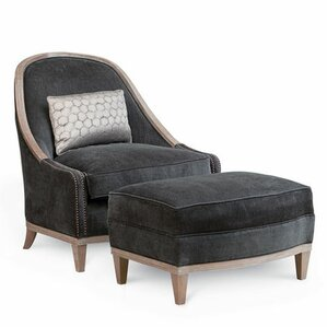 Alvina Slipper Chair by Gracie Oaks
