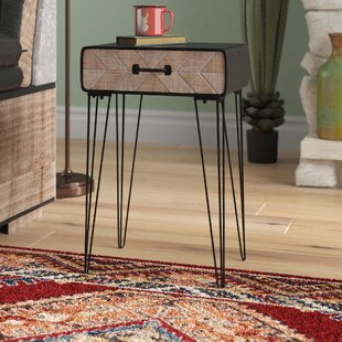 Opperman End Table by Union Rustic
