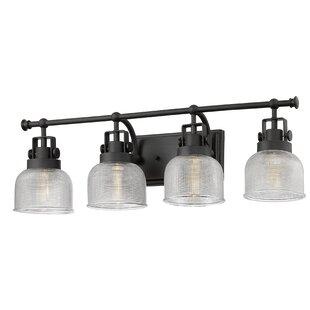 Gracie Oaks Wiseman 4-Light Vanity Light