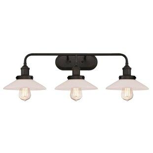 Williston Forge Darcella 3-Light Vanity Light