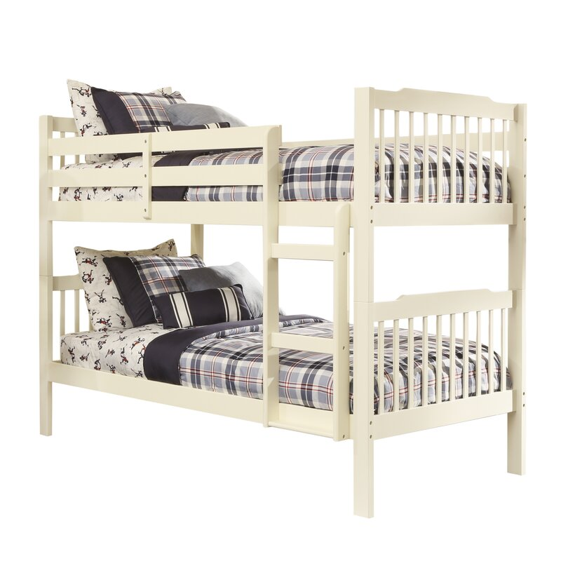 . Twin Over Queen Bunk Bed   Wayfair