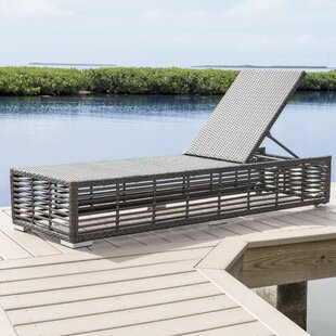 Panama Jack Outdoor Graphite Chaise Lounge