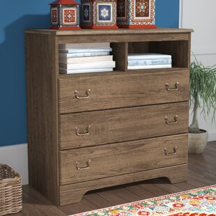 Devondra 3 Drawer Media Chest