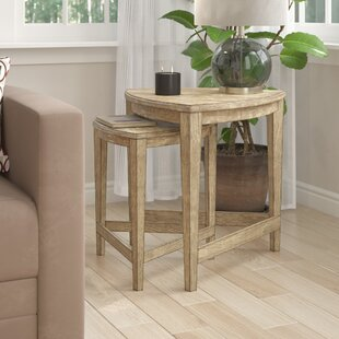 Carey 2 Piece Nesting Tables DarHome Co