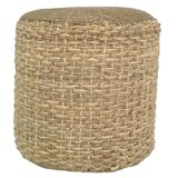 Torresdale 16 Round Pouf Ottoman by Highland Dunes