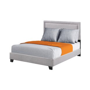 Linscott Upholstered Panel Bed by Charlton Home Comparison