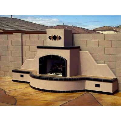Stivers Stainless Steel Gas Outdoor Fireplace Fleur De Lis Living