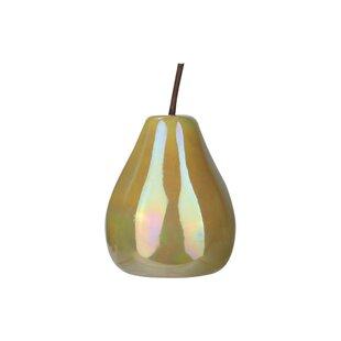 Ceramic Pear Sculpture Wayfair