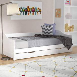 Girard European Single Cabin Bed With Trundle By Isabelle & Max