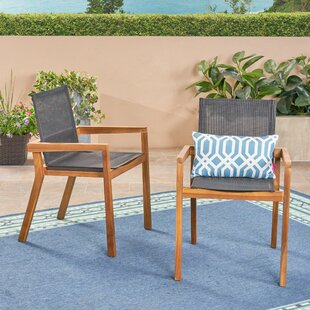 Acanthe Patio Dining Chair (Set of 2)