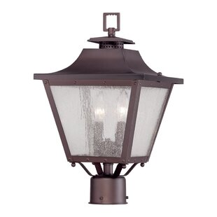 Compare prices Berryman Outdoor 2-Light Lantern Head By Fleur De Lis Living