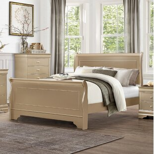 Low Profile Sleigh Bed