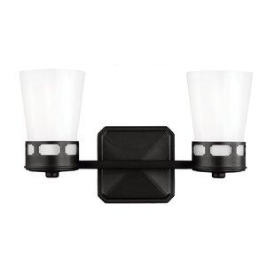 Latitude Run Alber 2-Light Vanity Light