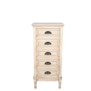 Crelake 5 Drawer Chest By Lily Manor