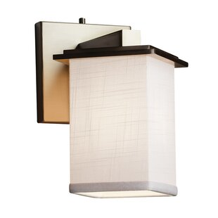 Ebern Designs Favela 1-Light LED Armed Sconce