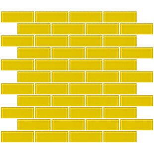 1 X 3 Gl Subway Tile In Bright Yellow