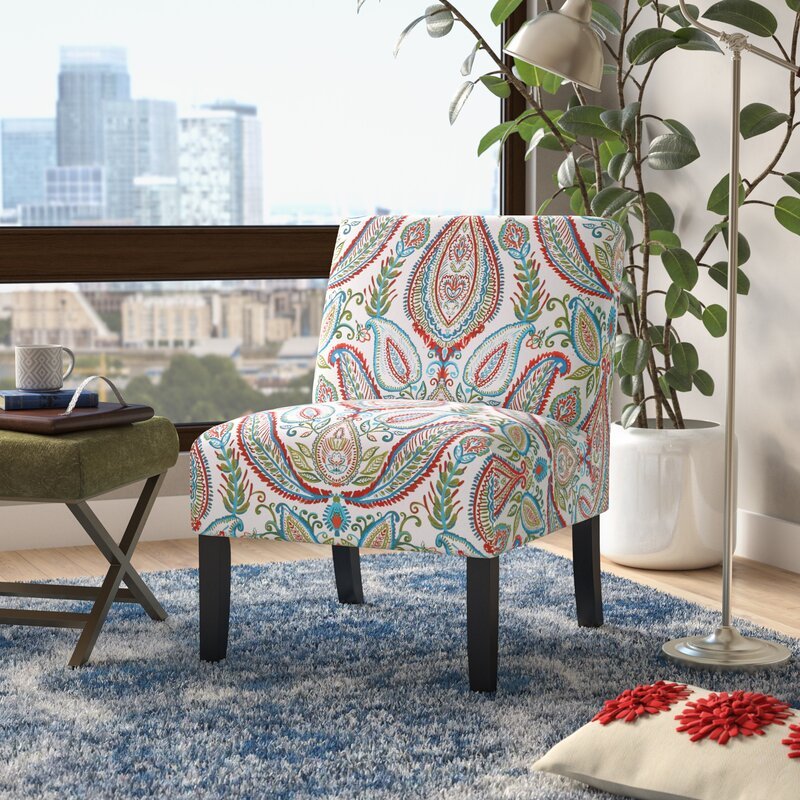 Etonnant Alleyton Paisley Slipper Chair