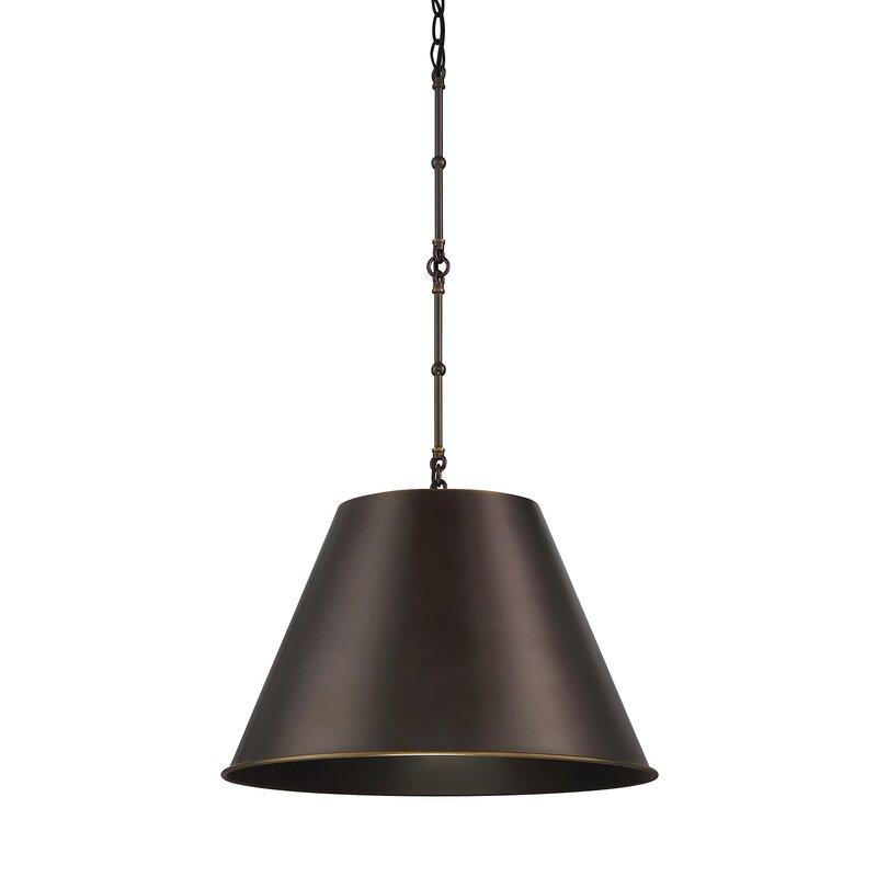 Nadeau 1-Light Cone Pendant