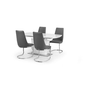 Lamberton Extendable Dining Set With 4 Chairs By Wade Logan