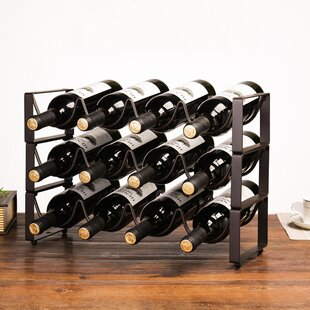 10 25 Bottle Floor Wine Racks You Ll Love In 2021 Wayfair