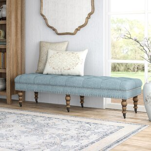 Lark Manor Ambrine Upholstered Bench