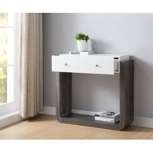 Price Check Evelyn Console Table By Ivy Bronx