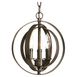 Brayden Studio Sudbury 3-Light Globe Pendant