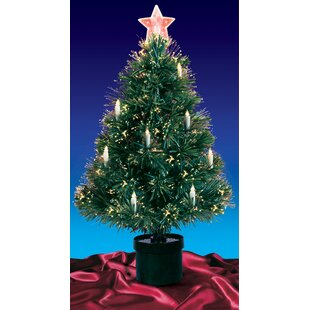 Fiber Optic Light Christmas Tree