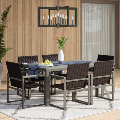 Charron 7 Piece Dining Set by Mercury Row #1